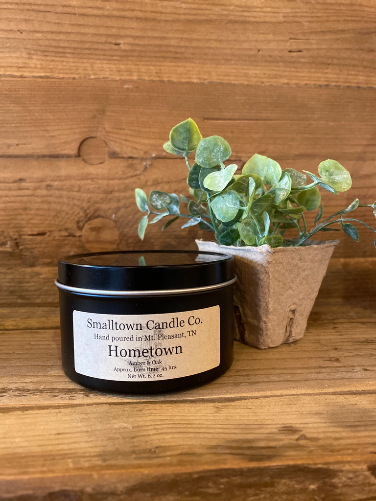 Smalltown Candle Co. Soy Candle-New Sizes