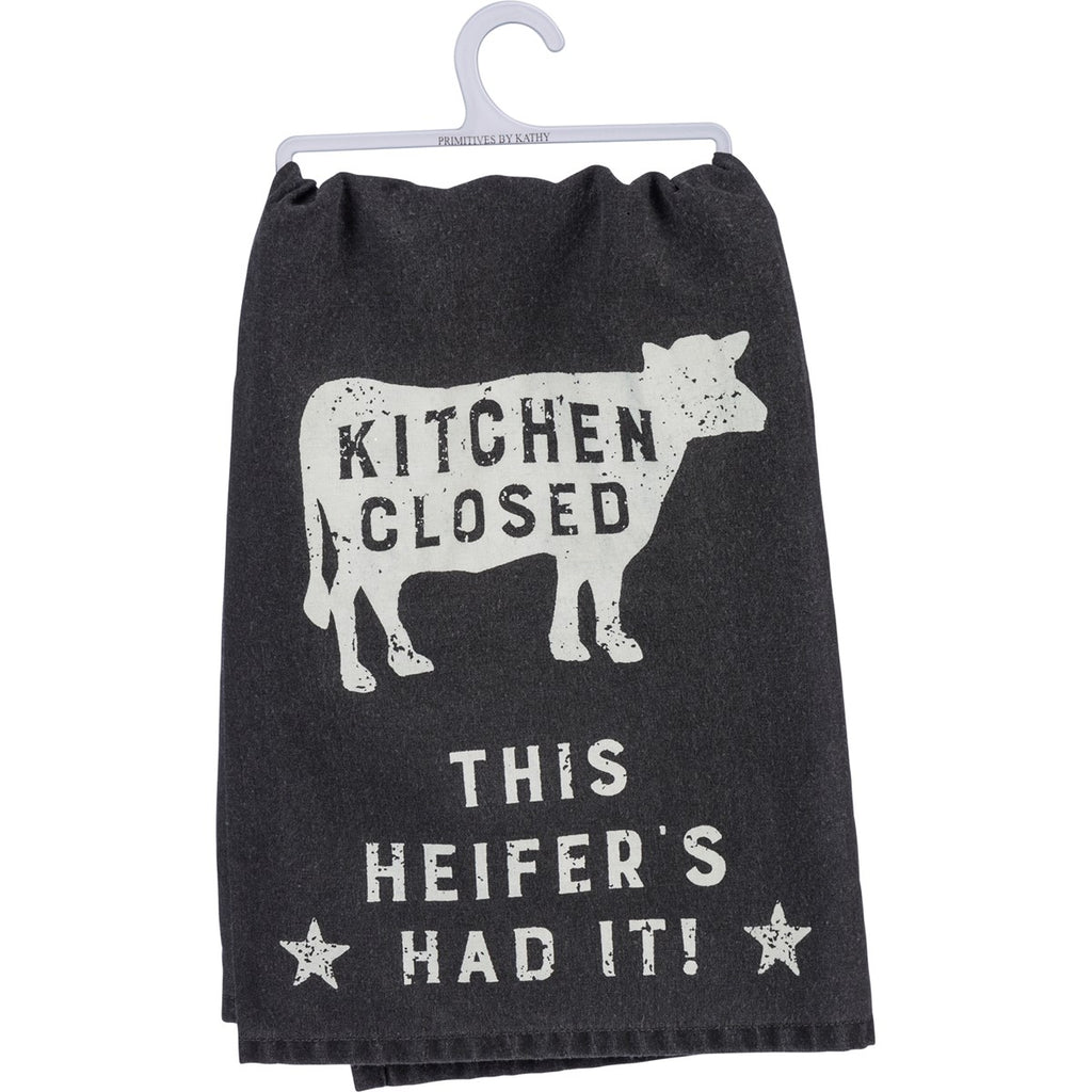 Heifer's Had It Tea Towel