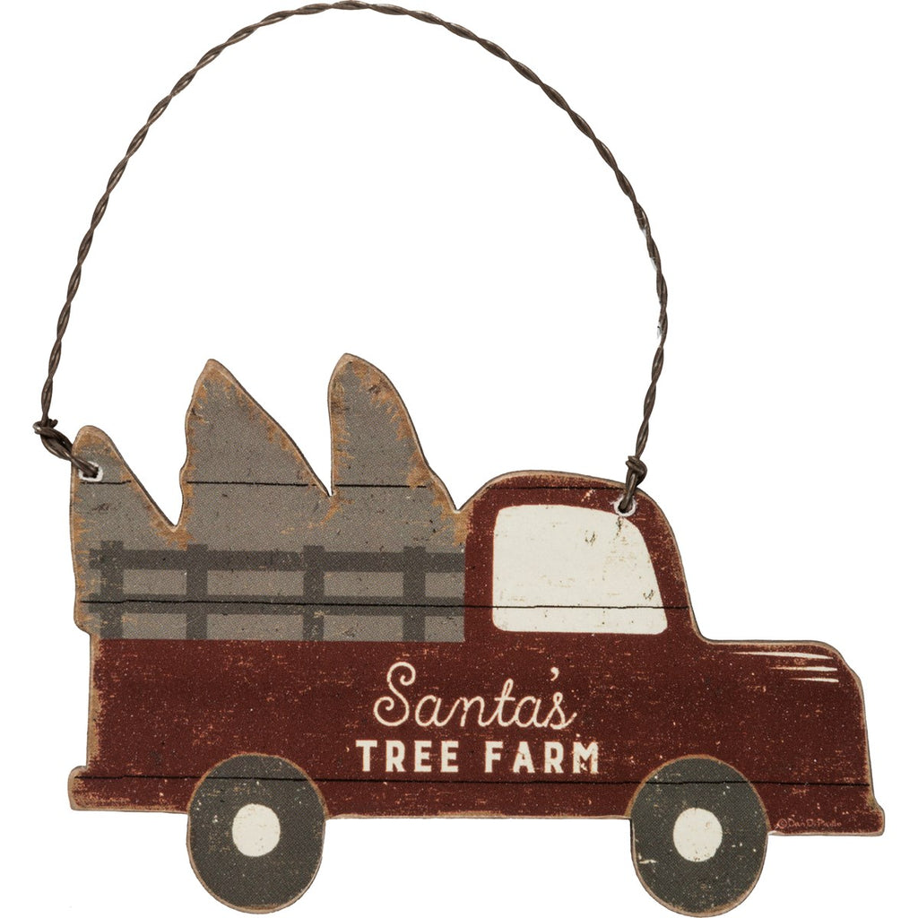 Tree Farm Truck Ornament