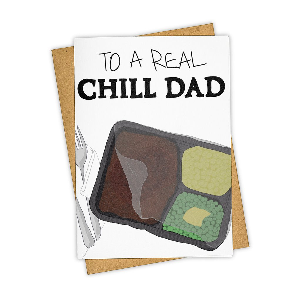 A Real Chill Dad Card