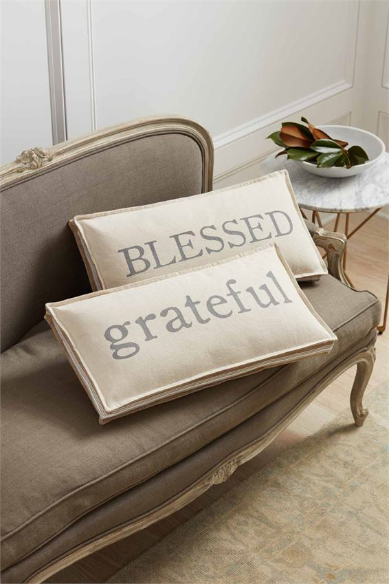 Blessed & Grateful Pillows