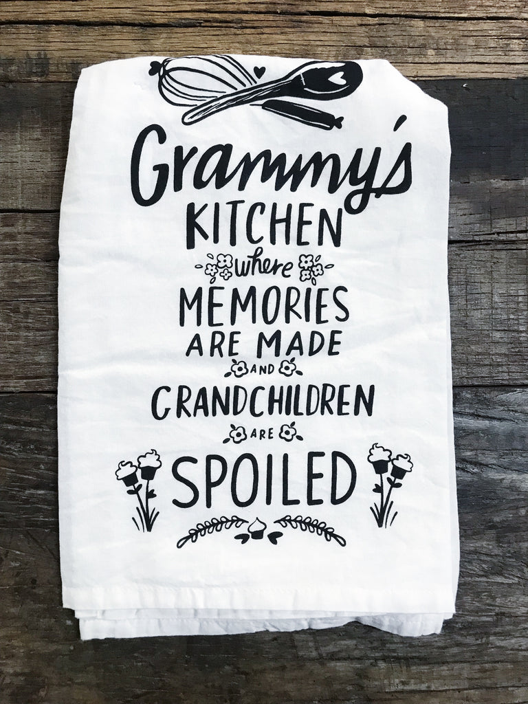 Grammy's Kitchen Tea Towel