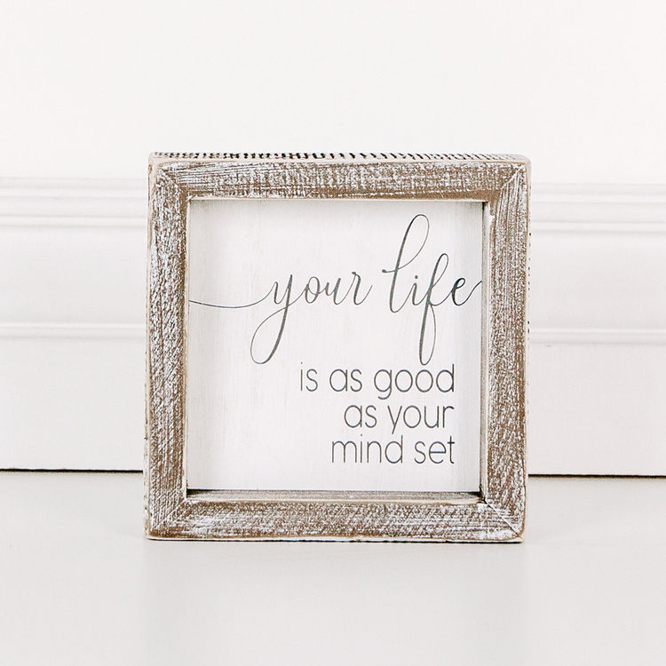 Your Life Wood Framed Sign