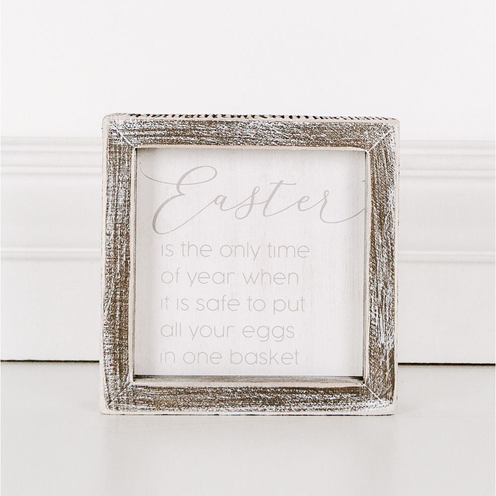 Easter Box Sign