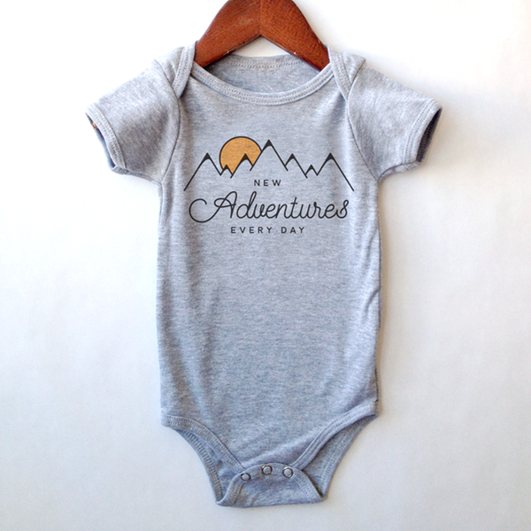 New Adventures Onesie