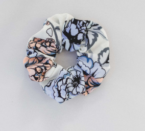 Floral Spring Scrunchies