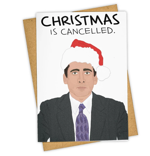 Christmas Is Cancelled.-Card