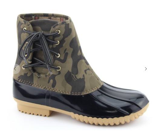 Camo Duck Boots