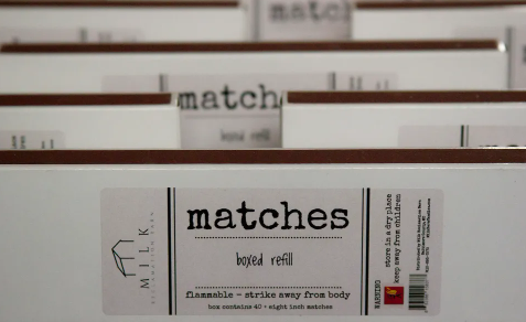 Matches Refill Box