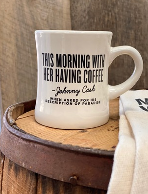 Johnny Cash Diner Mug