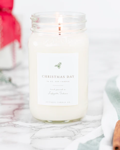 Christmas Day Soy Candle