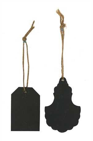 Metal Chalkboard Hang Tags
