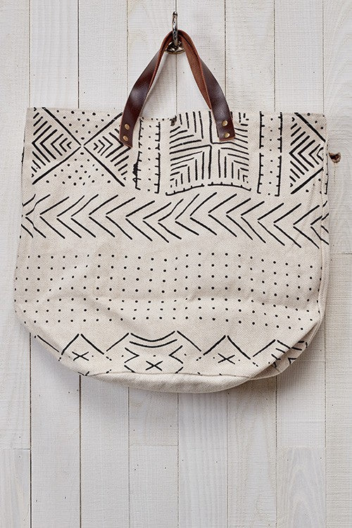 Tribal Printed Canvas Bag