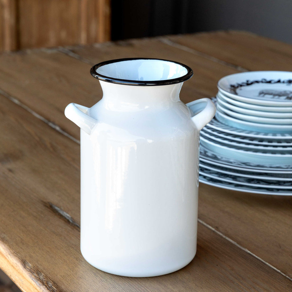 Farmhouse Milk Can Vase
