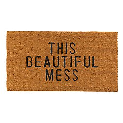 Beautiful Mess Door Mat