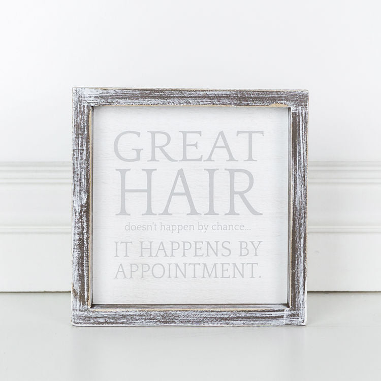 Great Hair Box Sign