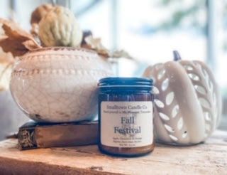 Smalltown Candle Co. Fall Scents