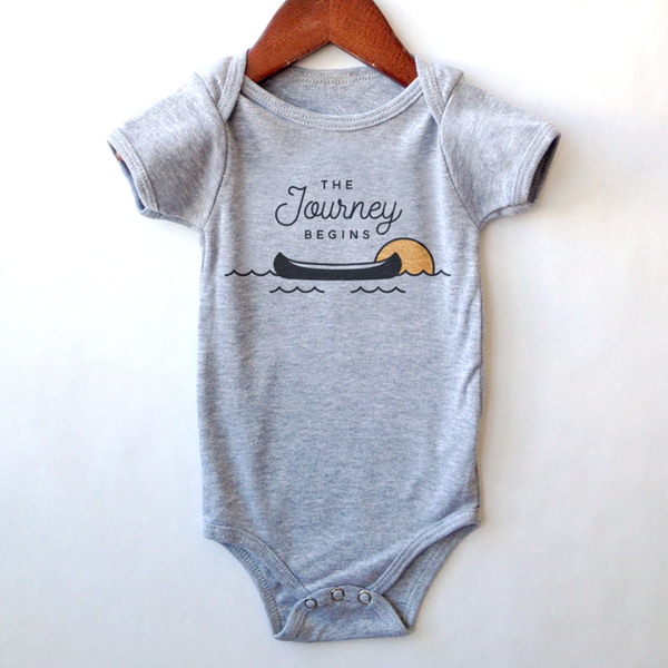 The Journey Begins Onesie