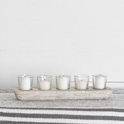 5 Votive Candle Tray