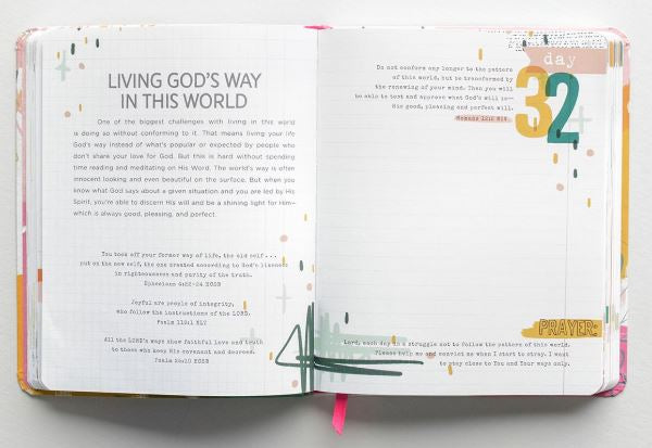 100 Days of Bible Promises Journal