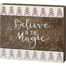 The Magic Box Sign