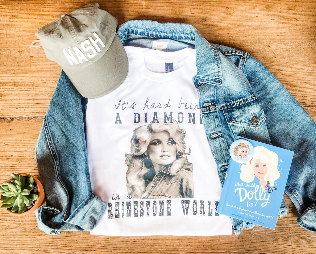 Hard Being a Diamond Dolly Tee