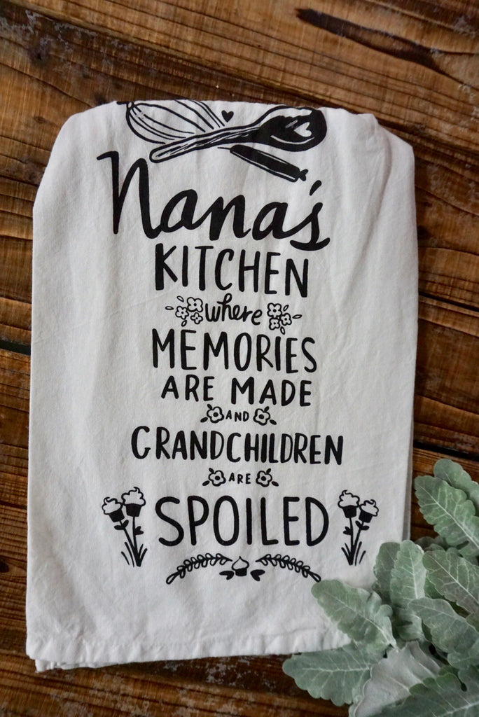 Nana's Kitchen Tea Towel