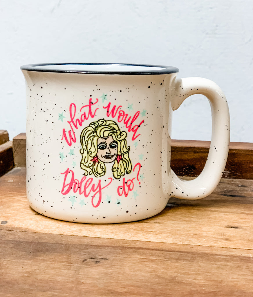 Dolly Camp Mug