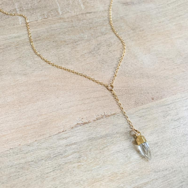 The Pippa Lariat Necklace