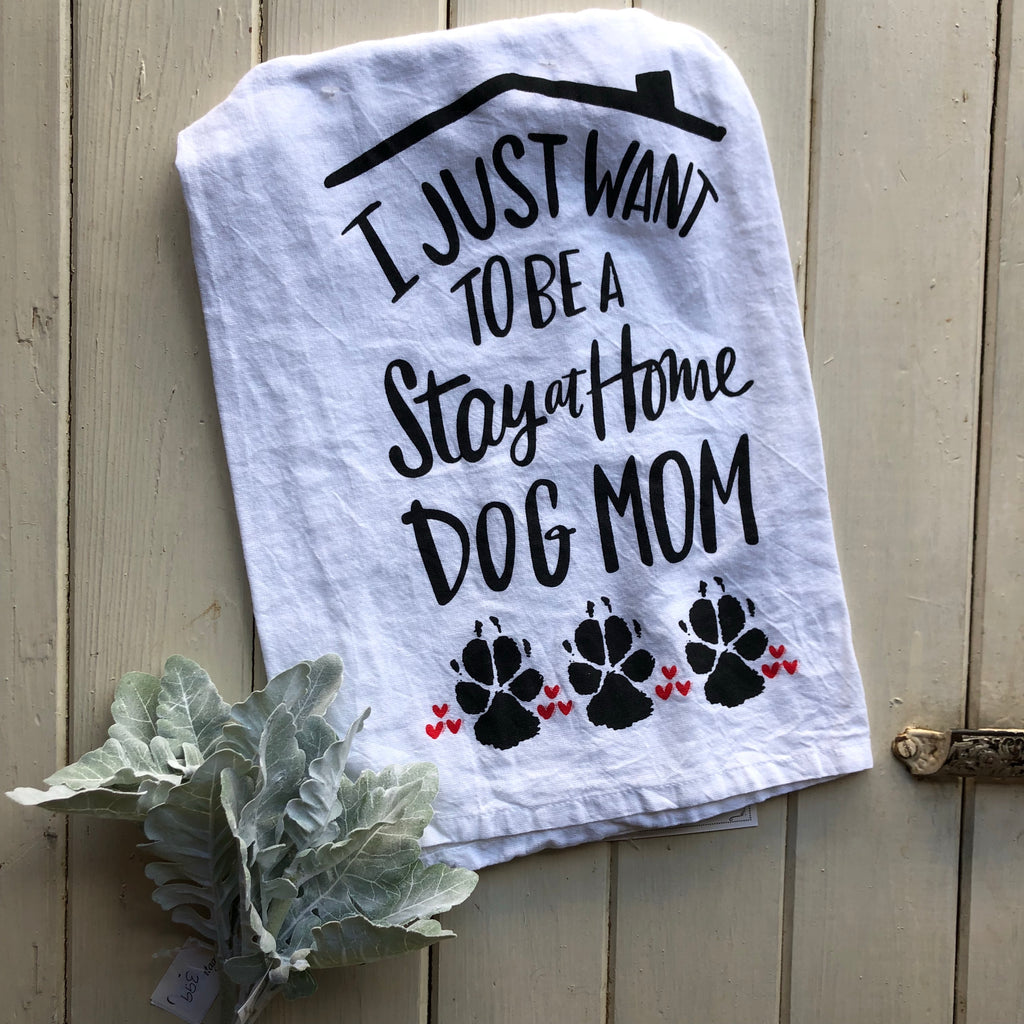 Dog Mom Tea Towel