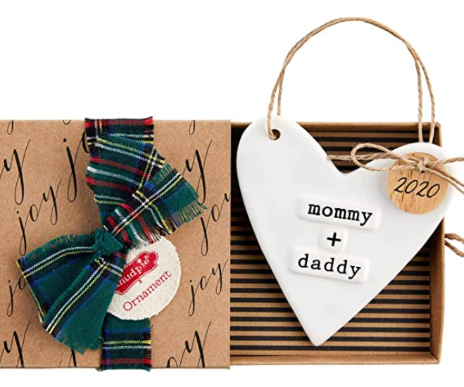 Mommy& Daddy 2020 Ornament