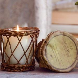 Worn Leather Soy Candle