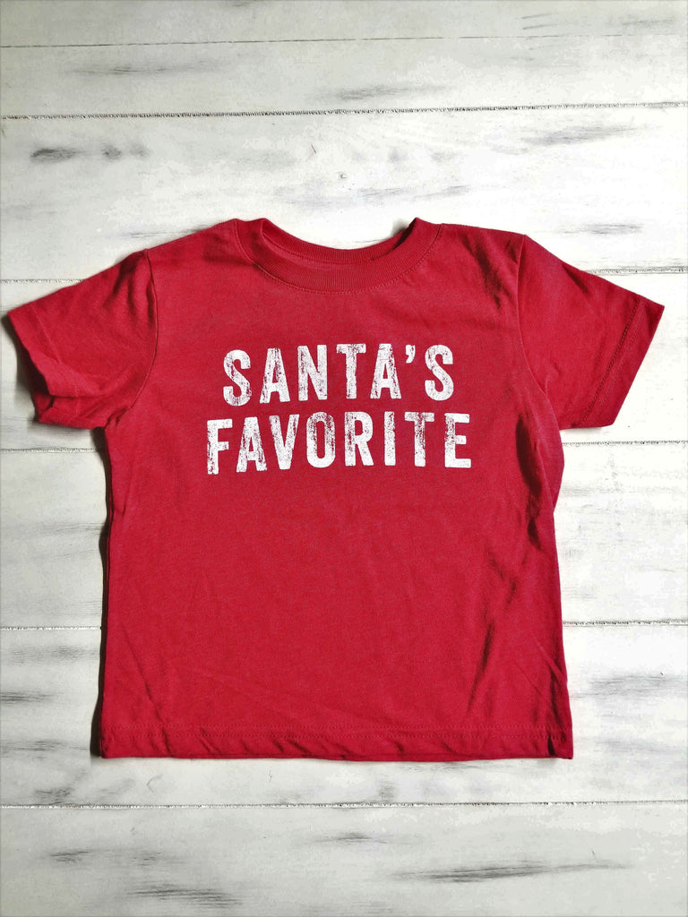 Santa's Favorite Toddler Tee
