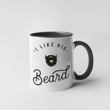 I Like His Beard Mug