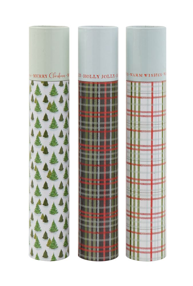 Holiday Matchbox Tubes