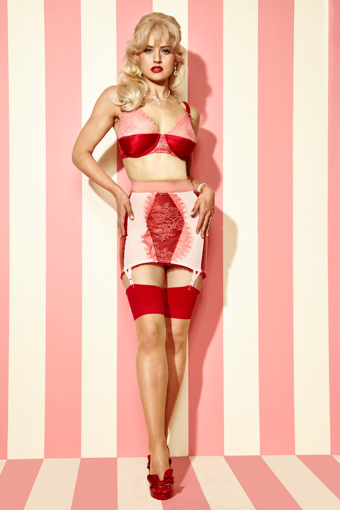 Strawberry Cake Girdle Skirt