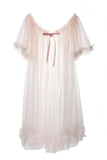 Short Sheer Dressing Robe