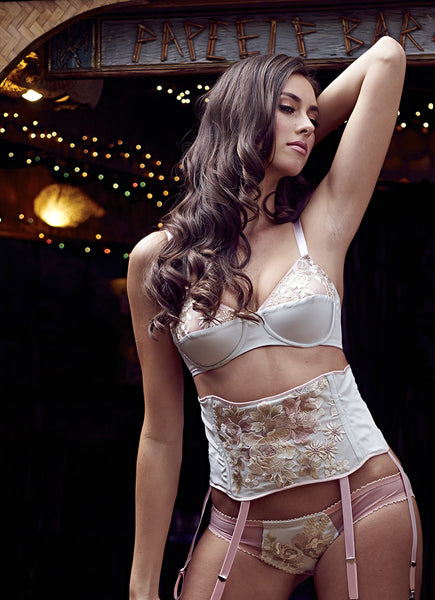 Tonight or Never Waspie/Garter Belt