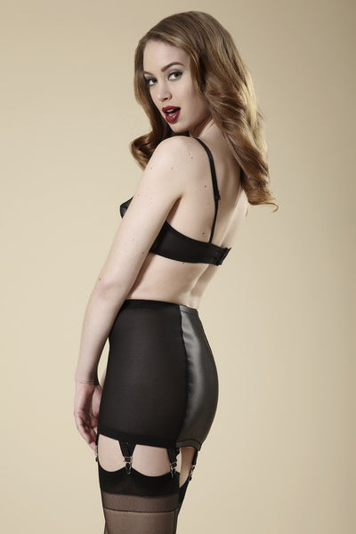Millie Black Girdle Skirt