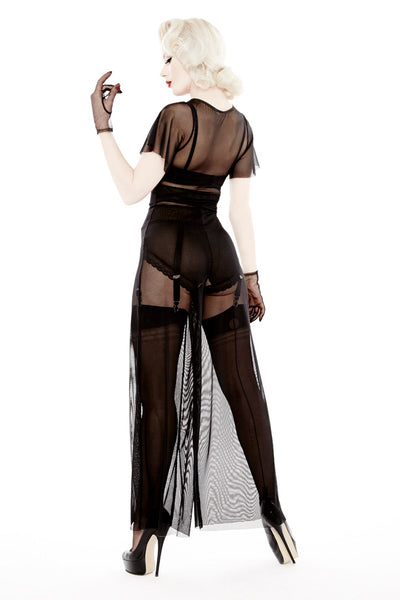 IN STOCK Sheer Show Jumpsuit