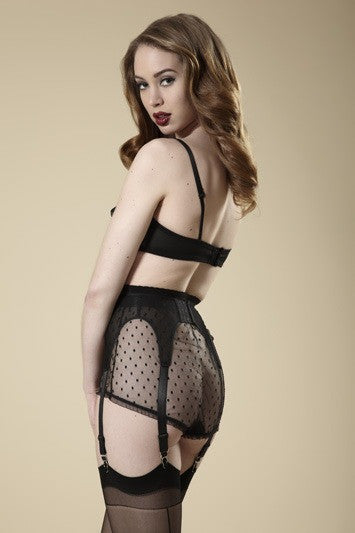 Millie Black Garter Belt