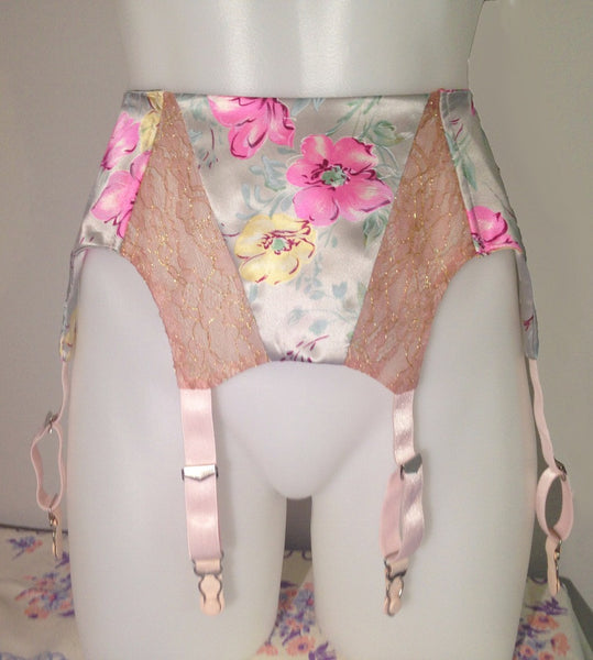 Royal Hawaiian Garter Belt