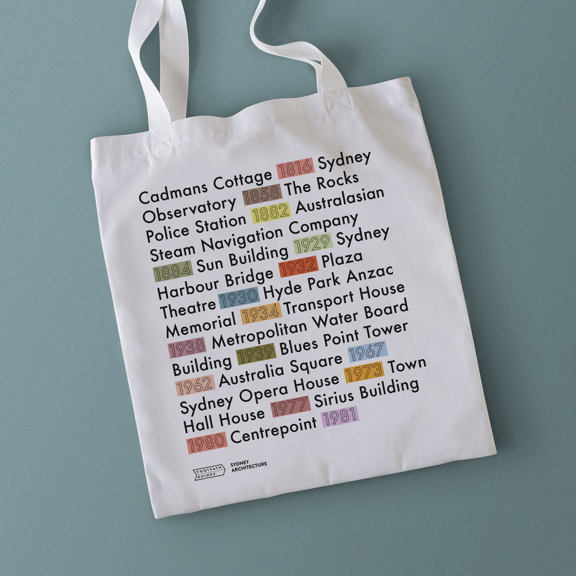 Sydney Architecture Tote Bag