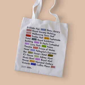 Melbourne Architecture Tote Bag