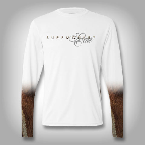 Fish Scale Sleeve Performance Shirts