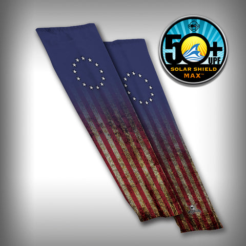 Betsy Ross Flag Compression Sleeve Arm Sleeve