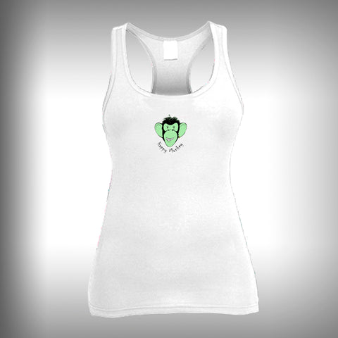 Grumpy Monkey Collection - Happy - Womens Tank Top