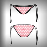 Monkinis™ Custom Full color Bikini - Flamingo Top and Bottom - SurfmonkeyGear  - 3