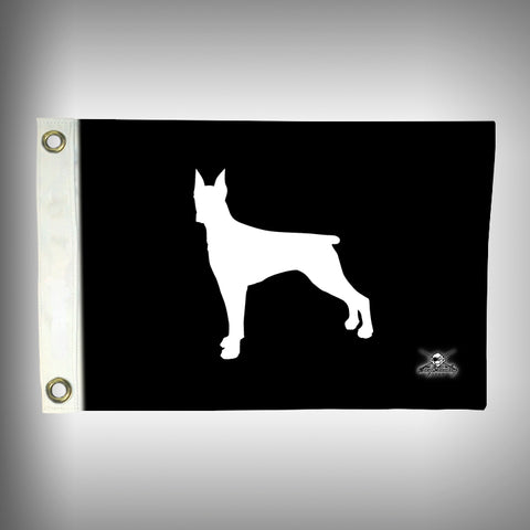 Boxer Flag - Dog Boat Flag - Boat Flag