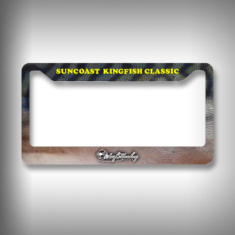 Suncoast Kingfish Classic License Plate Frame